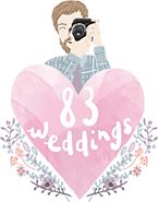 83Weddings Logo Becky Firth